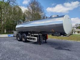 tank semi trailer semi trailer Magyar 2 essieux 25000 L
