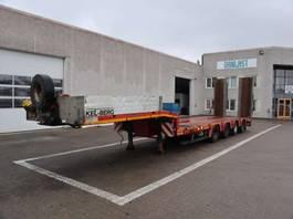 lowloader semi trailer Faymonville Nedbygget 2014
