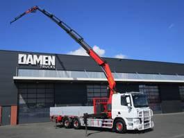 crane truck DAF CF 85 .460 6x2 Euro 5 2014