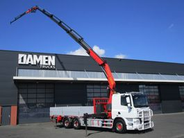 crane truck DAF CF 85.460 6x2 Euro 5 2014