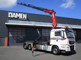 container truck MAN TGS 35.500 8x4 ( Tridem ) Euro 6 2018