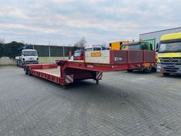 lowloader semi trailer Nooteboom EURO 38 02L 1996