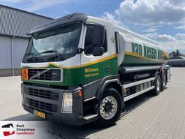 Tankwagen Volvo FM 420 EEV 6x2 Dijssel 4 componenten brandstofwagen 22400 liter 2010
