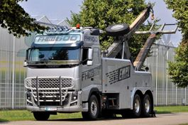 tow-recovery truck Volvo FH16 6x4 BB EMPL WRECKER 2012