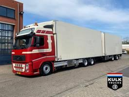 refrigerated truck Volvo FH 460 XL / VOLUME FRIGO COMBI 2x TAIL LIFT / TRS ICELAND 2011