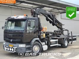 Plattform-LKW Renault Premium 210 4X2 NL-Truck Manual Euro 2 Pesci SE325+JIB 4J3 2001