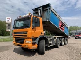 tipper truck Ginaf X4446 TS 8x8 25m3 Manual Gearbox EURO3 2002