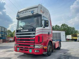 anderer LKW Scania 124-420, Klima, Manual Gearbox 2000