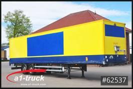 closed box semi trailer Krone Samro, Koffer, verzinkt, Doppelstock. Lager, 2010