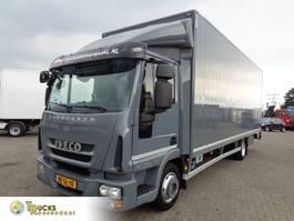 closed box truck Iveco EuroCargo 80 80E18 EEV + Euro 5 + BLAD-BLAD 2012