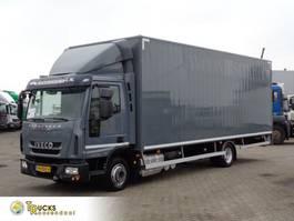 closed box truck Iveco EuroCargo 80 80E19 + Euro 6 + blad-blad 2014