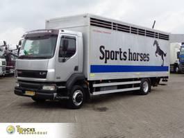 closed box truck DAF LF 55 .250 + Manual + DHOLLANDIA LIFT 2003
