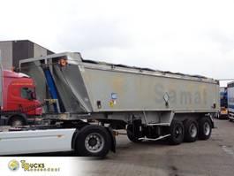 tipper semi trailer Stas S54-3A8 + 3 AXLE + ADR + KIPPER 1991