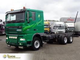 chassis cab truck DAF XF 105 + Manual + Euro 5 + Retarder + adr+6x4 2013