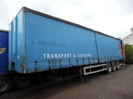 sliding curtain semi trailer Overige oplegger 3-asser AWB