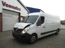 closed lcv Renault Master 2.3DCI Maxi Klima 145PS Netto €9950,= 2018