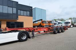 Container-Fahrgestell Auflieger ASCA S319DA /// 20/40 FEET /// 3AXLE /// 2000