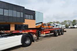 container chassis semi trailer ASCA S33822 // 20/40 FFET // ADJUSTABLE SPECIAL // 3AXLE /// 1997