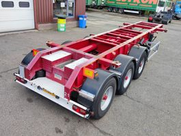 container chassis semi trailer LAG O 3 39 - 3 BPW assen - 20FT - ADR - Refurbished (O611) 1996