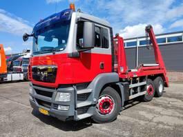container truck MAN TGS 26 Dagcabine 6X2/4 Euro 4 - Portaalarmsysteem - Hyvalift NG 2018 TA - Manua... 2008