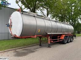 tank semi trailer semi trailer BSL Food 30000 Liter, Steel suspension 1985