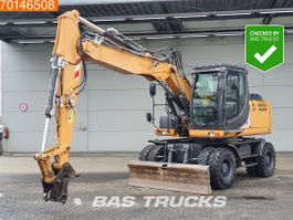 wheeled excavator Case WX148 DUTCH MACHINE - 80% TYRES 2013