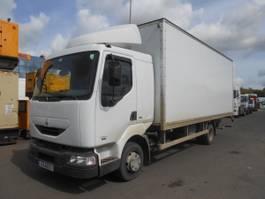 closed box truck Renault Midliner 2001