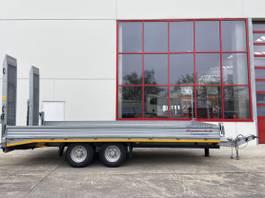 lowloader trailer Möslein TTS 11 Schwebheim Tandemtieflader, Wenig Benutzt 2017