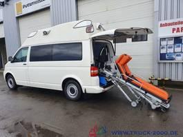 ambulance lcv Volkswagen T5 Krankentransport inkl Trage Rollstuhl Scheckh 2009
