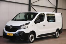 closed lcv Renault Trafic 1.6 dCi DUBBEL CABINE AIRCO TREKHAAK 2015
