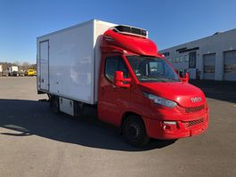 closed box truck Iveco Daily 35S17 2016