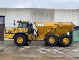 articulated dump truck Bell B40D 2015