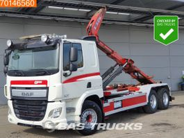 container truck DAF CF 440 6X2 Manual Liftachse Euro 6 2014