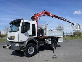 crane truck Renault MIDLUM 240 DXI 4X4 MANUAL FERRARI 710 CRANE KRAN GRUA WINCH 2009