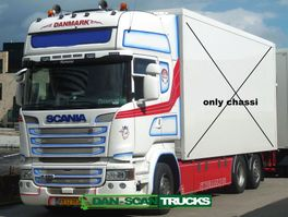 chassis cab truck Scania R490 only chassi no box- full Air suspension- special interior- 2015