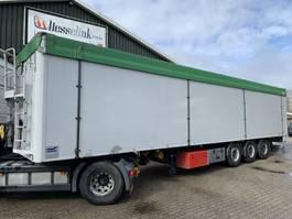 walking floor semi trailer Knapen Trailers K200 71m3 12M 365H Agrar 7.000KG Hochdruckreiniger Cargo Floor 2007