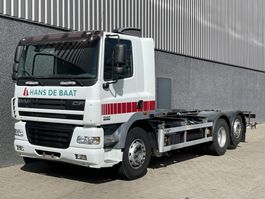 chassis cab truck DAF CF85-430 / Retarder / 6x2 / Only 469.193 KM / ADR / PTO 2006