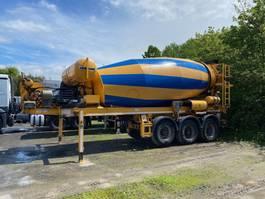concrete mixer semi trailer Müller-Mitteltal - Liebherr 12cbm - Deutz engine - Luft Lift - BPW 2012