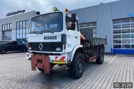 crane truck Renault Manager Day Cab, Euro 1, // Full steel - Big axle - Crane Palfinger - Ti... 1995