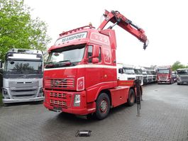 cab over engine Volvo FH13 520 6X2 KRAN HIAB 28 T/M 2009