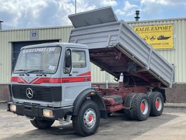 tipper truck > 7.5 t Mercedes-Benz 2628 Kipper 6x4 V8 ZF Good Condition 1984