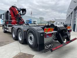 container truck MAN New Generation 35.470 8x4-4 BL-NN HMF 2243-Z2 kraan+containerhaak 2022