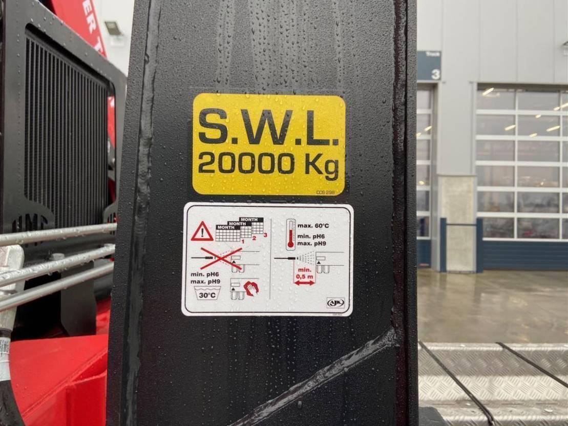 Container-LKW MAN New Generation MAN TGS 35.470 8x4-4 BL-NN HMF 2243-Z2 kraan+containerhaak 2021