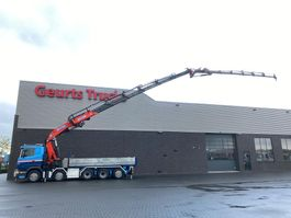 crane truck Scania G480 10X4 + KIPPER/TIPPER + EFFER 850 6/S + JIB 6S KRAAN/KRAN/CRANE/GRUA 2010