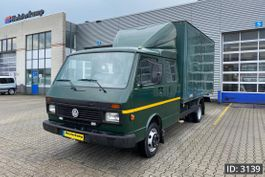 closed box truck Volkswagen Day Cab, Euro 1, // DOKA // Double cabin - Full steel - Top Condition 1993
