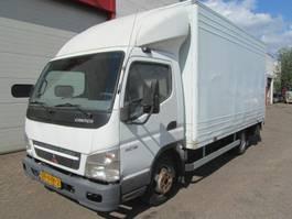 closed box truck Mitsubishi 3C13 Canter 2007