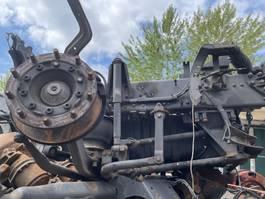 Front axle truck part Scania Luchtgeveerde vooras compleet