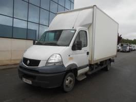 closed box truck Renault Mascott 2010