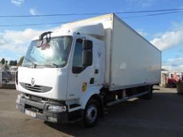 closed box truck Renault Midlum 2008