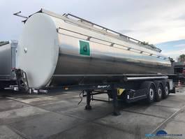 Tankauflieger Berger Seka Santi tankoplegger 31.500 liter 3 compartimenten SAPL 24 SATA 2010